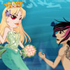 Mermaid Princess Wed ..