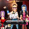 Rockband Keyboard Girl
